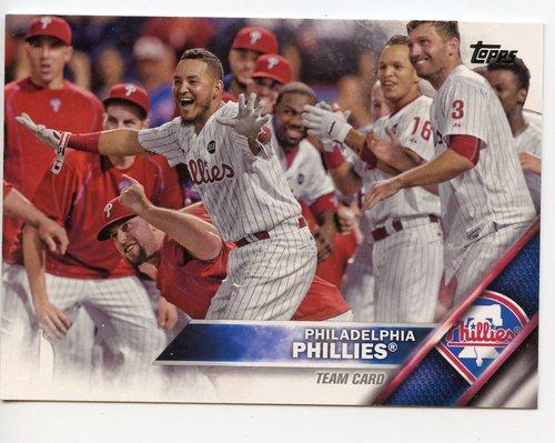 Photo of 2016 Topps #431 Philadelphia Phillies