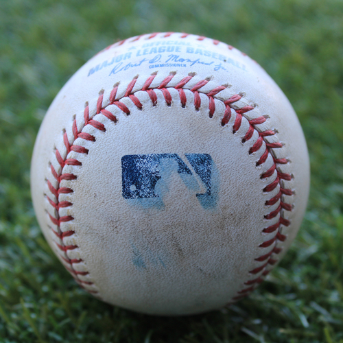 Game-Used Baseball: Leury Garcia 271st Career Hit (CWS @ KC - 6/7/19)