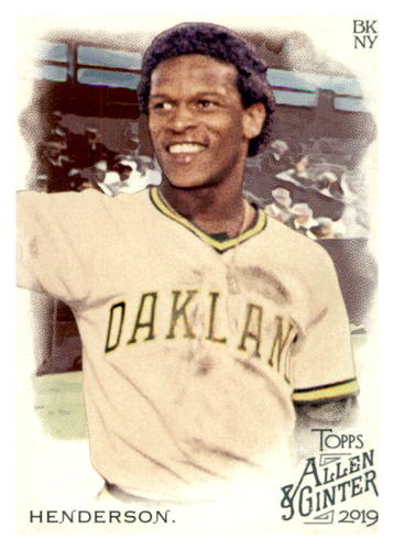 Photo of 2019 Topps Allen and Ginter #46 Rickey Henderson