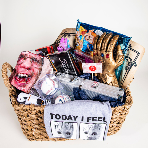 "Photo of Wil Myers ""Favorite Things"" Basket"