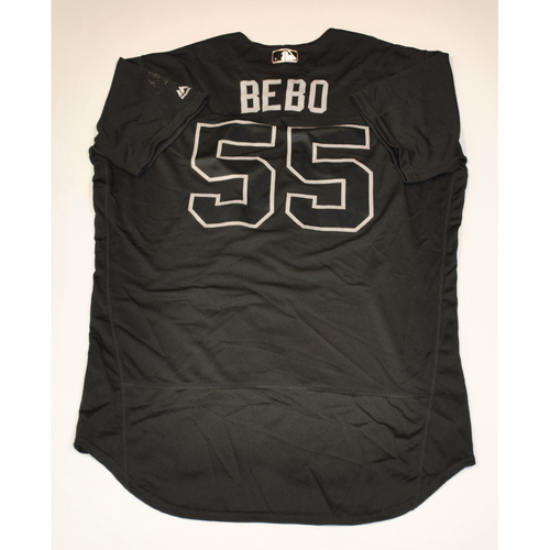 "Photo of Roberto ""Bebo"" Perez Cleveland Indians Game-Used 2019 Players' Weekend Jersey"