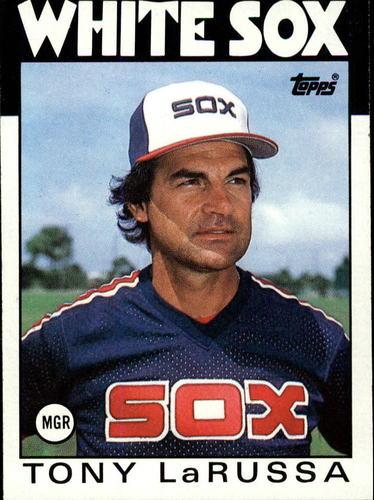 Photo of 1986 Topps #531 Tony LaRussa MG