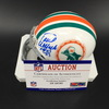 HOF - Dolphins Paul Warfield Signed Mini Helmet