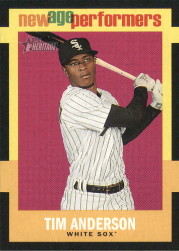 Photo of 2020 Topps Heritage New Age Performers #NAP16 Tim Anderson
