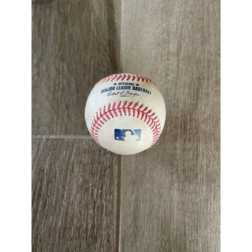 Photo of 8/26/20 Game-Used HOME RUN Baseball, Rockies vs. D-backs: Sam Hilliard Homered Off of Matt Grace