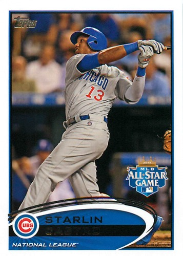 Photo of 2012 Topps Update #US74 Starlin Castro