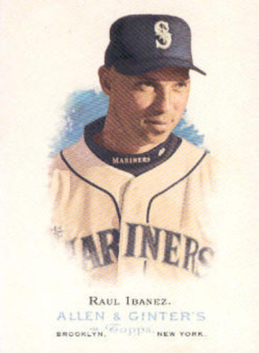 Photo of 2006 Topps Allen and Ginter #182 Raul Ibanez