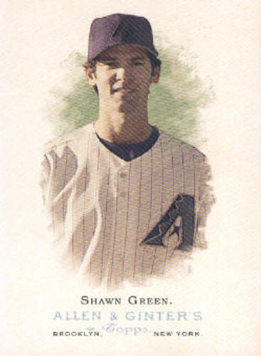 Photo of 2006 Topps Allen and Ginter #30 Shawn Green