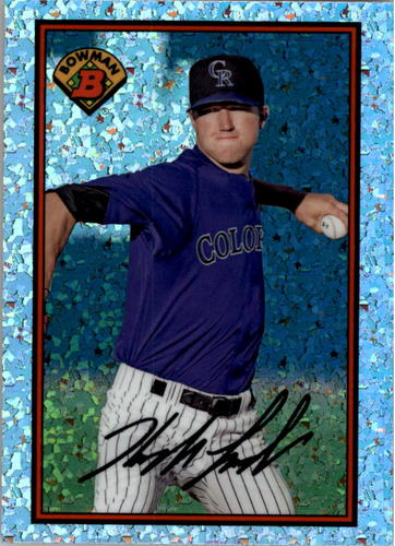 Photo of 2014 Bowman '89 Bowman is Back Silver Diamond Refractors Kyle Freeland