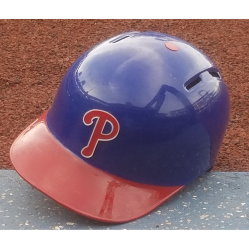 Photo of 2017 Game-Used Nick Williams Alternate Helmet