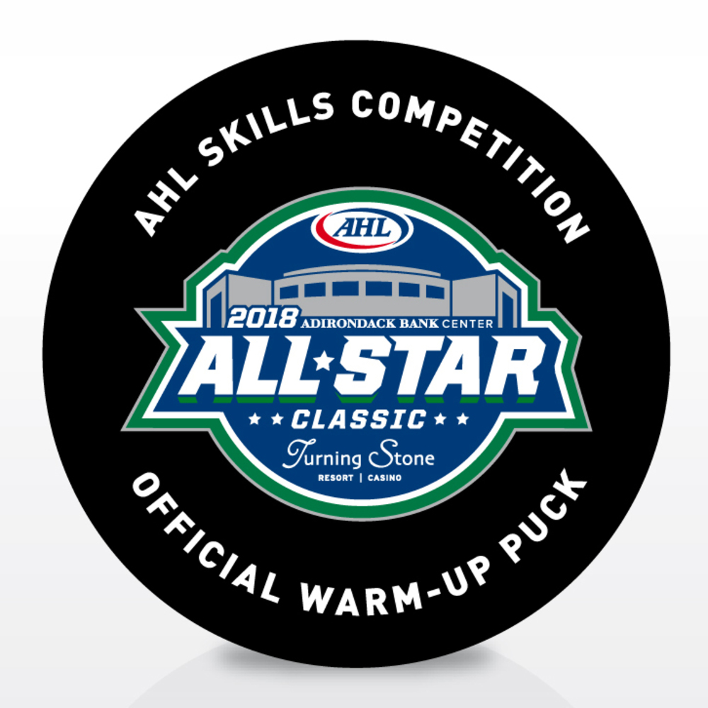 2018 AHL All-Star Classic Souvenir Puck Signed by #33 Chris Gibson
