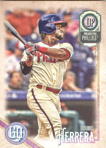 Photo of 2018 Topps Gypsy Queen #144 Odubel Herrera