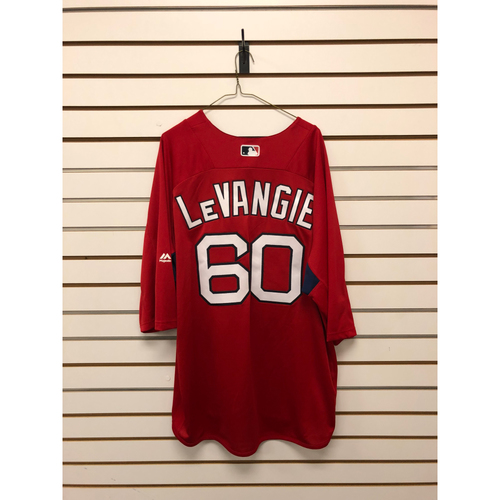 Photo of Dana Levangie Team-Issued Home Batting Practice Jersey