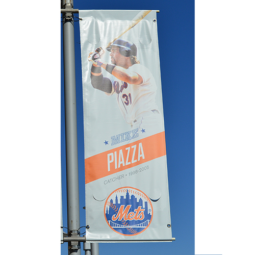 Photo of Mike Piazza - Citi Field Banner - 2016 Season