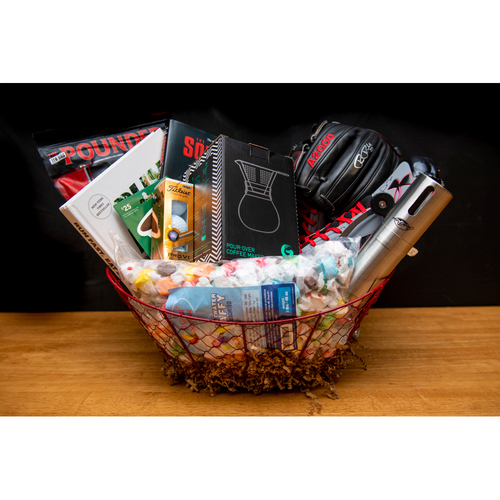 Photo of Rick Porcello Favorite Things Basket