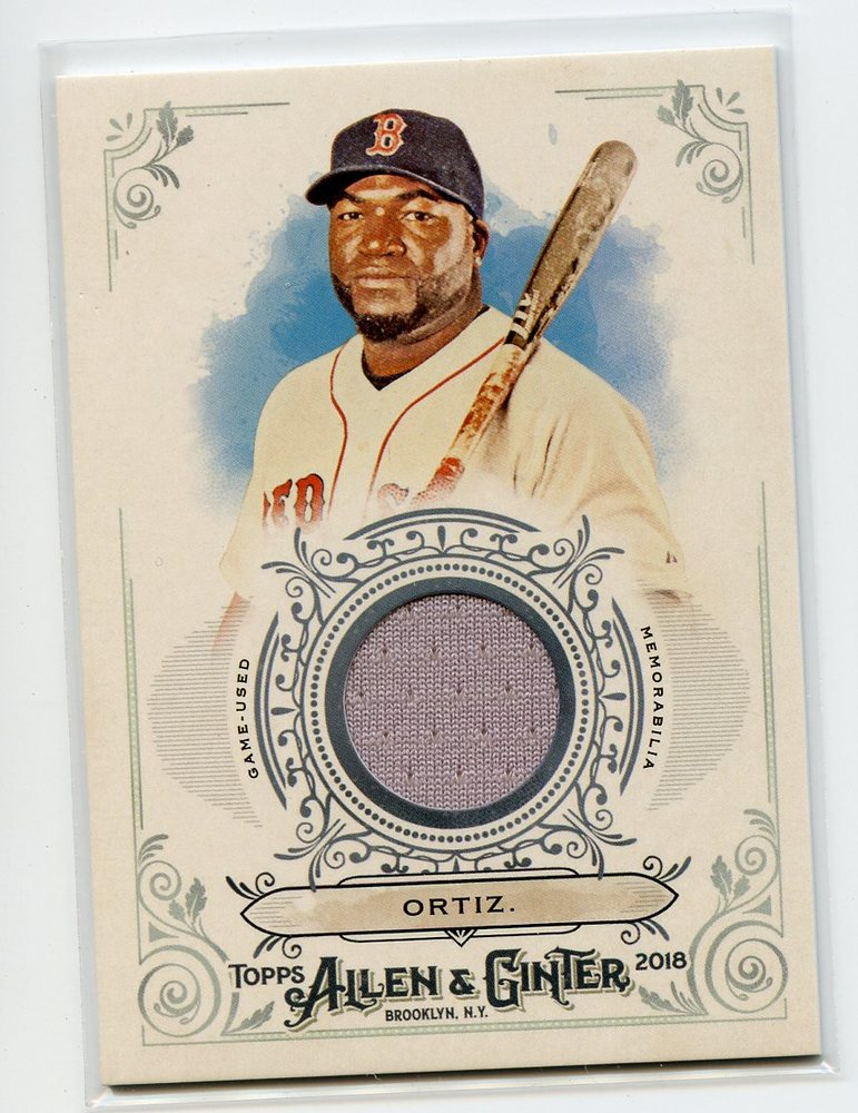 2018 Topps Allen and Ginter Relics #FSRBDO David Ortiz B