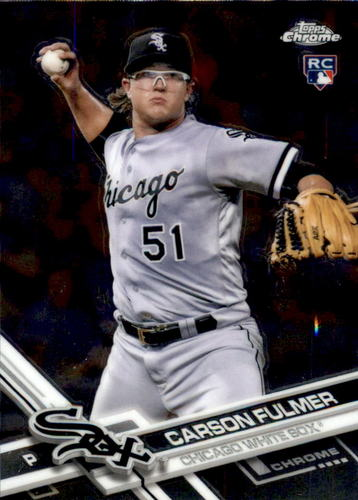 Photo of 2017 Topps Chrome #12 Carson Fulmer Rookie Card
