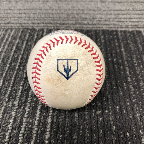 Photo of San Francisco Giants - 2019 Game Used Spring Training Baseball - 2/25/19 vs CWS - Drew Pomeranz to Yoan Moncada - RBI Triple