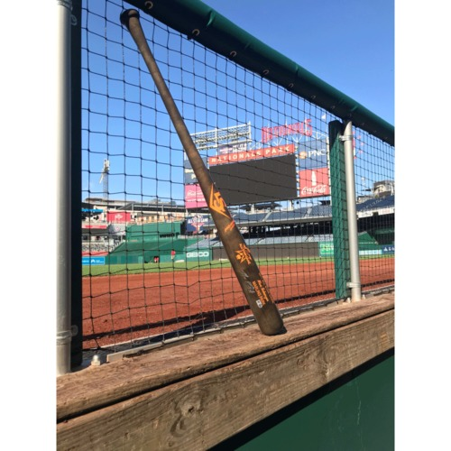 Photo of Max Scherzer Autographed 2017 All Star Game Bat