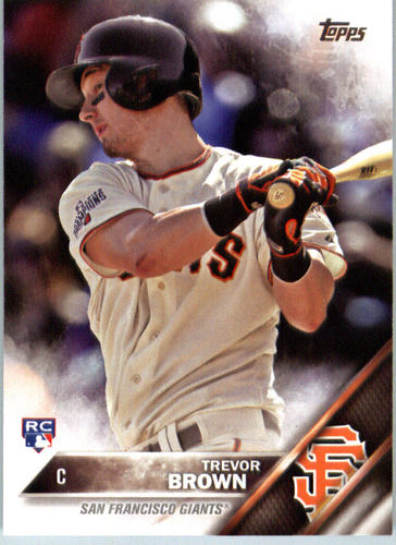 Photo of 2016 Topps #433 Trevor Brown RC