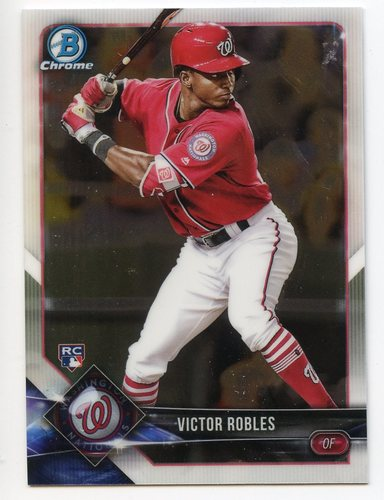 Photo of 2018 Bowman Chrome #52 Victor Robles RC
