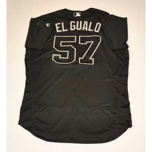 "Photo of Eduardo ""EL GUALO"" Rodriguez Boston Red Sox Game-Used 2019 Players' Weekend Jersey"
