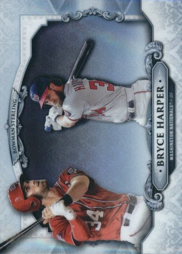 Photo of 2018 Bowman Sterling Refractors #BSBH Bryce Harper
