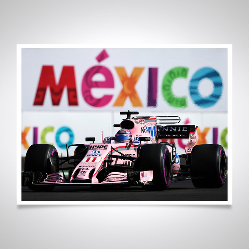 Photo of Sergio Perez 2018 Signed Photo 'Mexico' - Official Sergio Pérez Collection