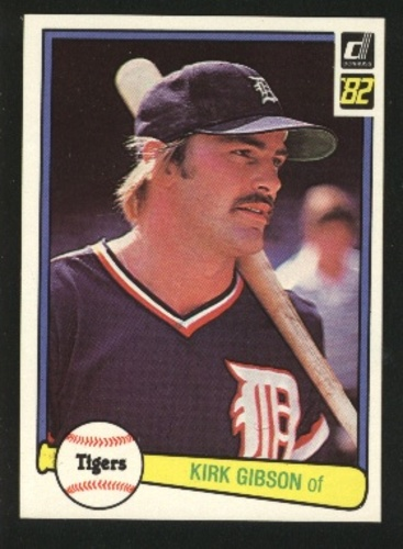 Photo of 1982 Donruss #407 Kirk Gibson