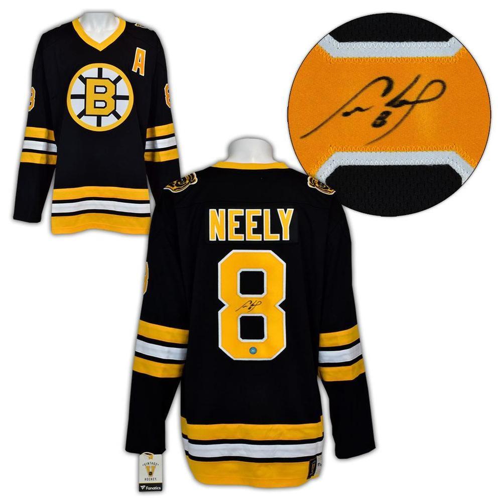 Cam Neely Boston Bruins Autographed Retro Fanatics Hockey Jersey