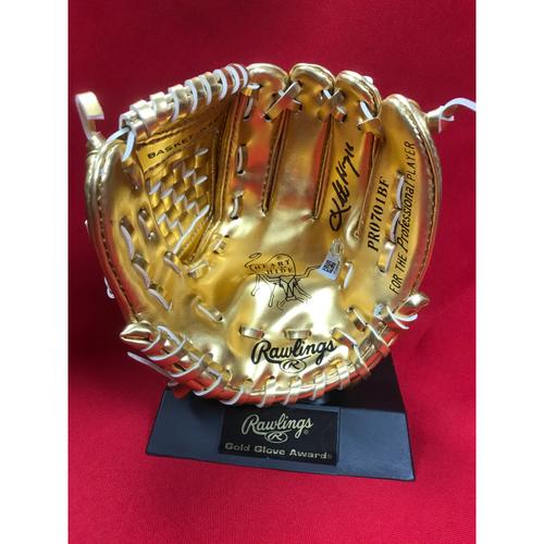 Photo of Kolten Wong Autographed Mini Gold Glove