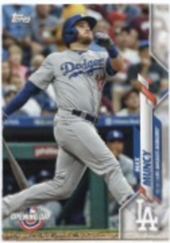 Photo of 2020 Topps Opening Day #107 Max Muncy