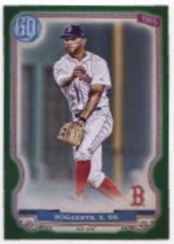 Photo of 2020 Topps Gypsy Queen Green #96 Xander Bogaerts