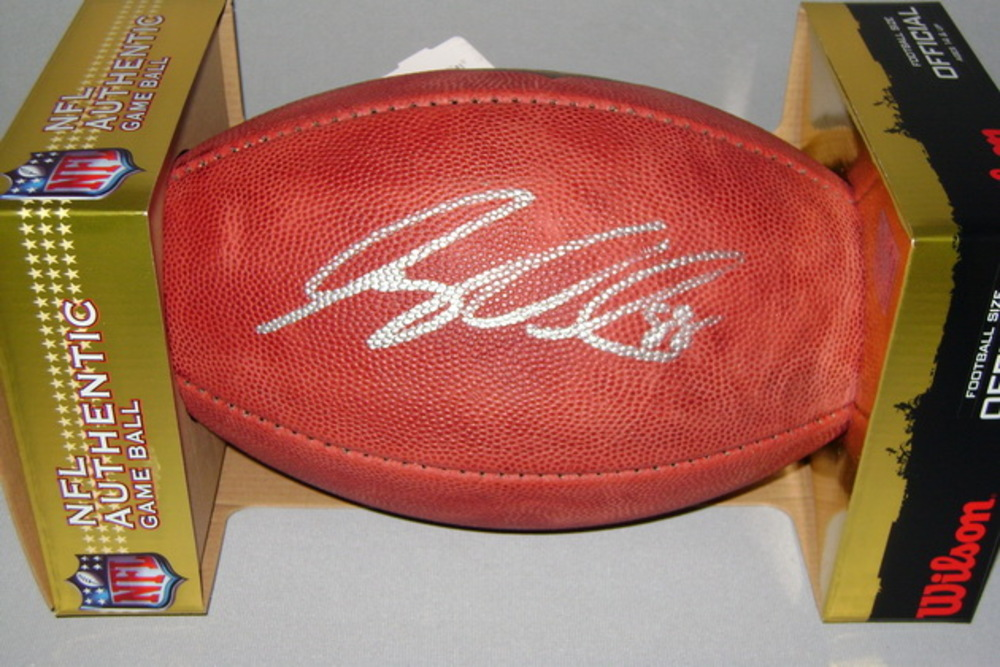 NFL - SEAHAWKS GREG OLSEN SIGNED AUTHENTIC BALL
