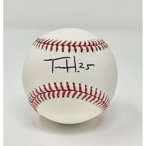 Photo of Tim Hill Autographed Baseball