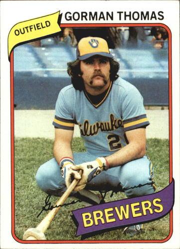 Photo of 1980 Topps #623 Gorman Thomas