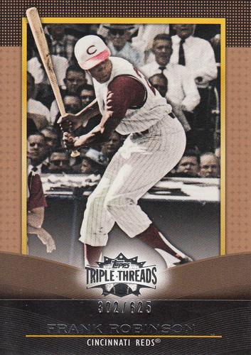 Photo of 2011 Topps Triple Threads Sepia #63 Frank Robinson
