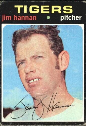 Photo of 1971 Topps #229 Jim Hannan