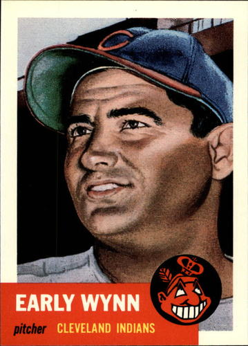 Photo of 1991 Topps Archives 1953 #61 Early Wynn