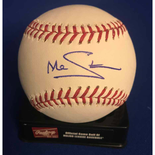 Photo of UMPS CARE AUCTION: Marcus Stroman Signed Baseball - NOT MLB Authenticated