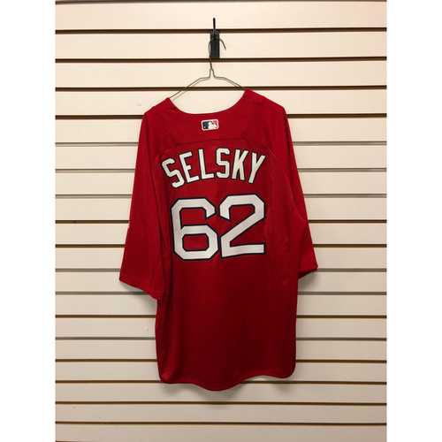 Photo of Steve Selsky Team-Issued Home Batting Practice Jersey