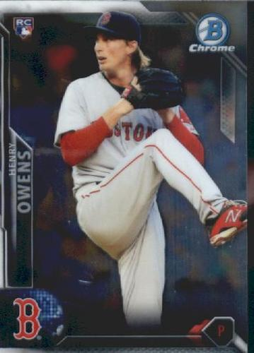 Photo of 2016 Bowman Chrome Vending '16 Bowman #129 Henry Owens