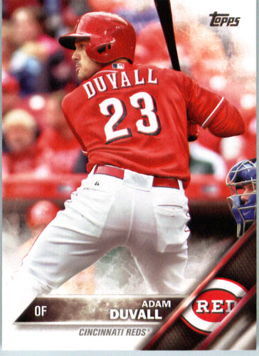 Photo of 2016 Topps #584 Adam Duvall Rookie Card