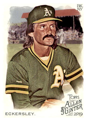 Photo of 2019 Topps Allen and Ginter #48 Dennis Eckersley