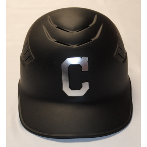 "Photo of Sandy ""Santitos"" Alomar Jr. Cleveland Indians Game-Used 2019 Players' Weekend Helmet"