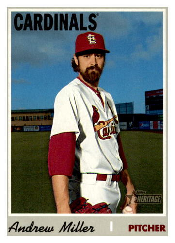 Photo of 2019 Topps Heritage #521 Andrew Miller