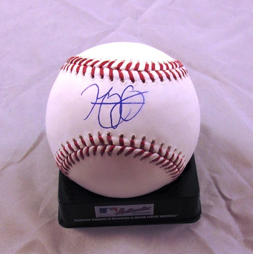 Photo of Henry Owens Autographed Official Major League Baseball