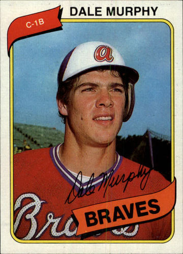 Photo of 1980 Topps #274 Dale Murphy