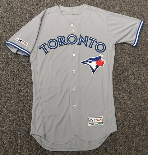 Photo of Authenticated Team Issued Grey 2019 Jersey - Features MLB 150 Patch on Sleeve - - Choose your size!