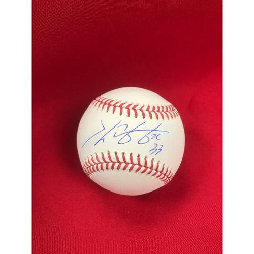 Photo of Kwang-Hyun Kim Autographed Baseball